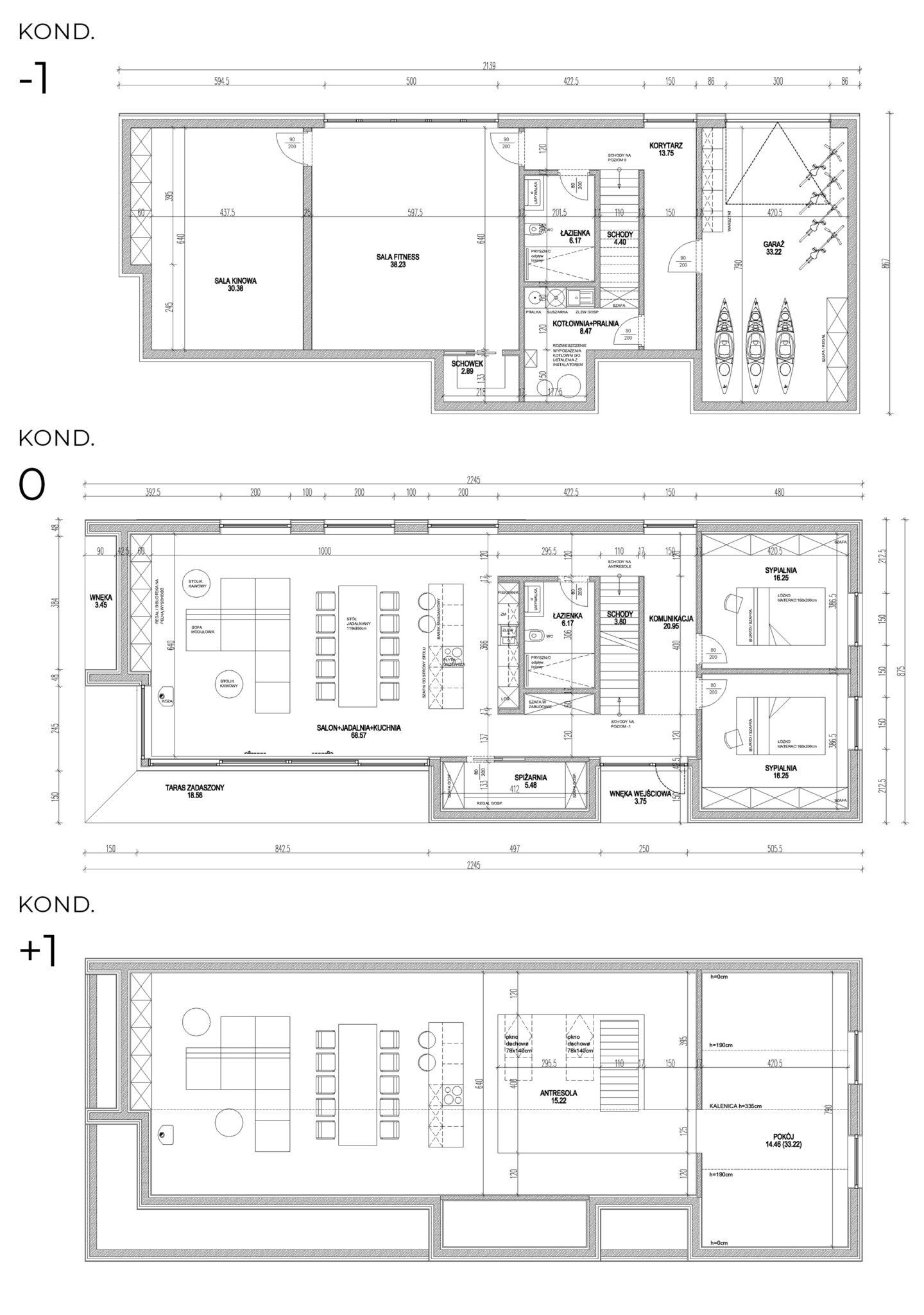 Dom nad jeziorem Drawskim A02 5