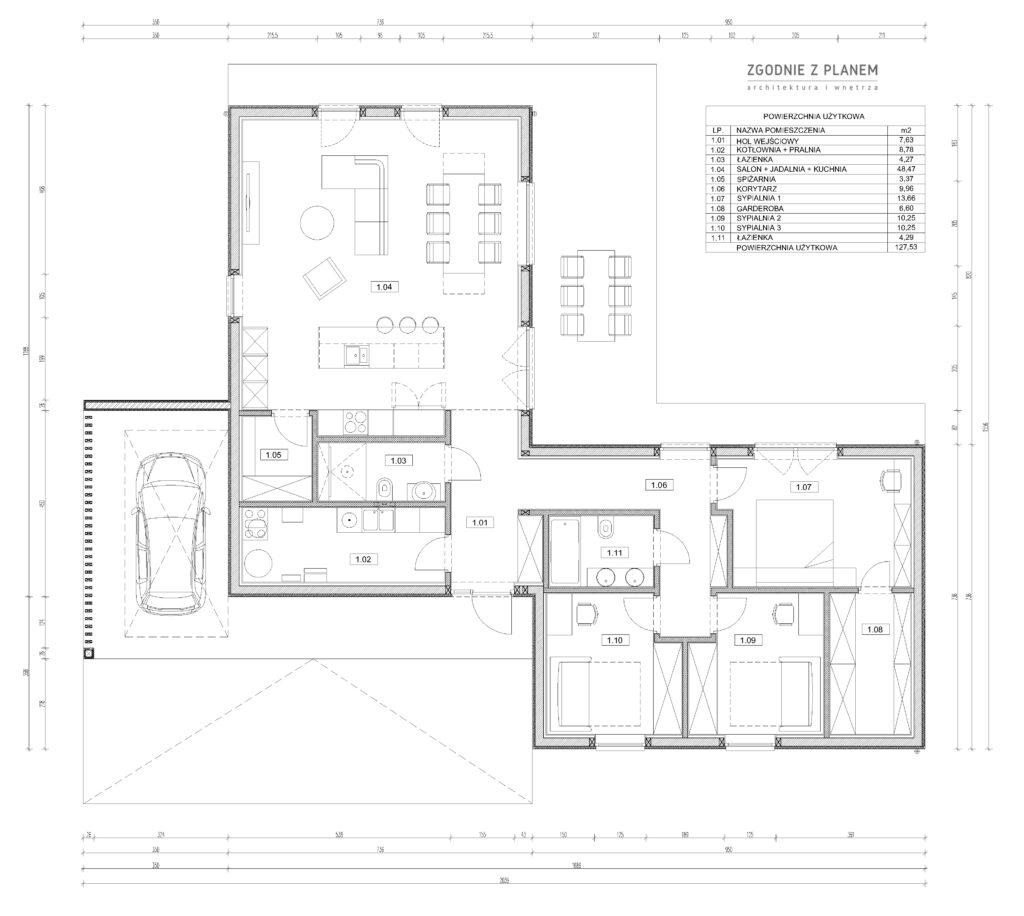 Dom pod Poznaniem A01 6