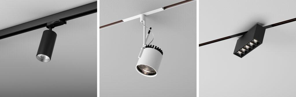 5 rodzaje lamp sufitowych systemy szynowe