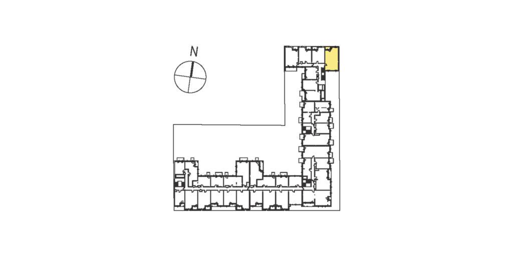 rzut mieszkania od dewelopera