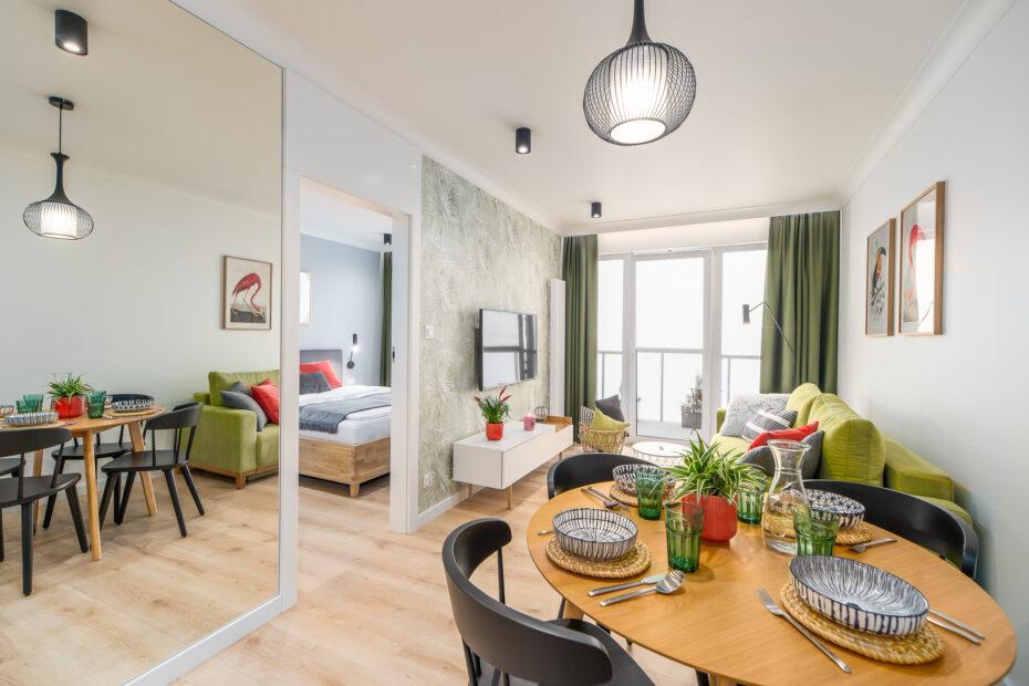 Projekt wnetrza apartamentu w Kolobrzegu  W07 1